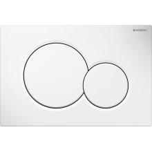 Geberit Sigma 01 huuhtelupainike, valkoinen