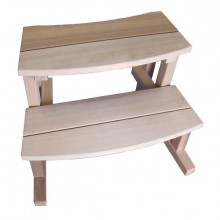Kirami Stepin rappu, red cedar