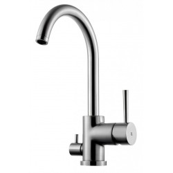 Tapwell EVO184 keittiöhana, Brushed Nickel
